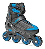 Roces Jokey Pattino In Linea Da Bambino, Bambino, Black/Astro Blue,