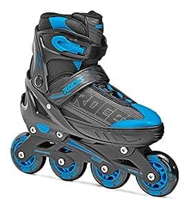 Roces Roller en ligne Noir/Bleu Taille 26-29