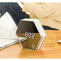 MEILI Intelligente faule kreative minimalistische multi-Funktion des intelligenten Spiegelelektronischen Weckers preisvergleich bei billige-tabletten.eu