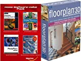 FloorPlan 3D Home Design Suite 8.0 & FREE Home Software Value Pack