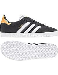 new product 45874 2d031 adidas Gazelle J, Chaussures de Fitness Mixte Adulte, Gris (CarbonFtwbla
