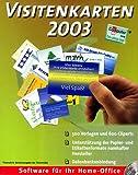 Visitenkarten 2003 -