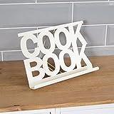 Home Discount® Kochbuch Ständer Küche Halterung, cremefarben