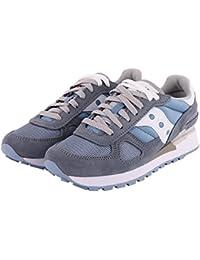 SAUCONY S1108-678 SHADOW ORIGINAL azzurro bianco scarpe donna sneakers