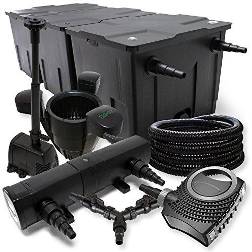 set-di-filtri-90000l-sunsun-pompa-stagno-con-24-w-laghetti-70-w-eco-25-m-tubo-skimmer-fontana