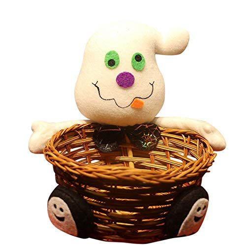 ration Schüssel Halloween Ghost Candy Korb Wohnkultur Handgewebte Heißer Hohe Qualität (3) ()