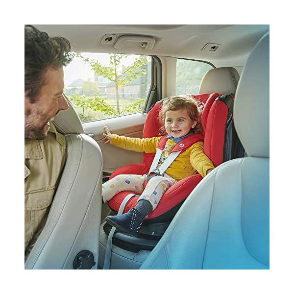 Maxi-Cosi Tobi Toddler Car Seat Group 1, Forward-Facing Reclining Car Seat, 9 Months-4 Years, 9-18 kg, Nomad Sand Maxi-Cosi Toddler car seat suitable for children from 9 to 18 kg (approximately 9 months to 4 years) Install theMaxi-Cosi Tobi car seatusing the car's seat belt and the integrated belt tensioner ensures a solid fit Spring-loaded, stay open harness to make buckling up your toddler easier as the harness stays out of the way 7