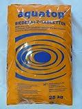ARNDT aquatop Siedesalz-Tabletten | Regeneriersalz | Salztabletten 25 kg Sack kostenloser Versand ab 3 Sack