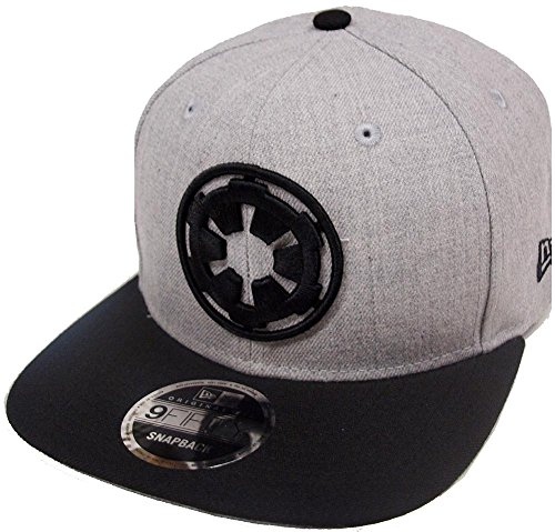 New Era Empire Logo Heather Grey Snapback Cap 9fifty 950 Special Limited Edition