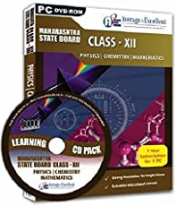 Average2Excellent Class 12 Combo Pack (Physics, Chemistry, Maths) Maharashtra State Board (CD)
