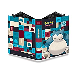 Amigo Spiel + Freizeit UPR85530 PKM Snorlax 9-Pocket PRO-Binder, Mehrfarbig
