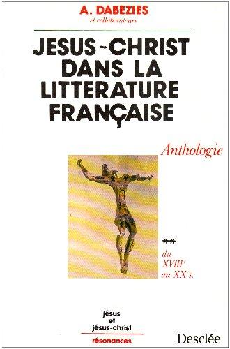 Jésus-Christ dans la littérature française