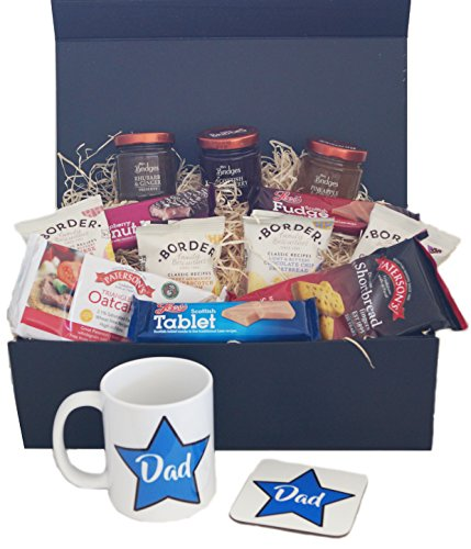 Fathers Day Hamper with mug and coaster set - A perfect gift for your dad on Fathers Day, his birthday or just to say I love you!