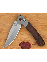Benchmade Neuheit 15080-2 CROOKED RIVER, Wood, Axis