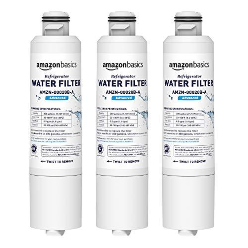 AmazonBasics Filtre à eau de rechange pour réfrigérateur Samsung DA29-00020B - Filtration Advanced
