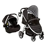 Hauck 148143 Lift Up 4 Shop N Drive, Set Duo Composto da Passeggino Ed Ovetto, Nero, Gruppo 0+