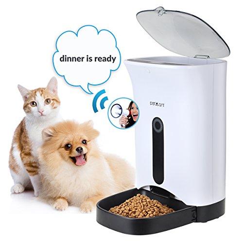 Iseebiz Comedero Automatico Gatos 4.3L Alimentador