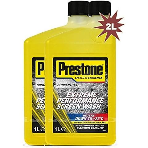 Prestone-Liquido funziona fino a parabrezza