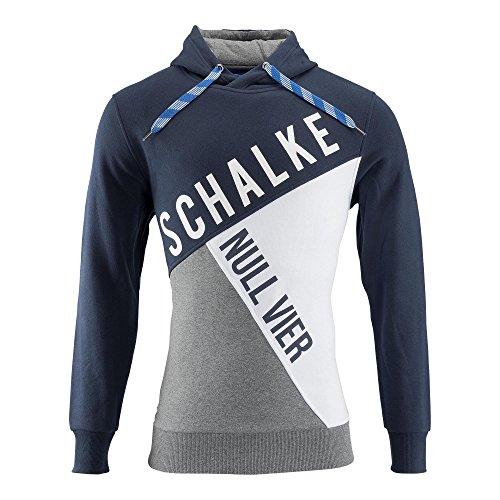 XL FC Schalke 04 Damen Kapuzenpullover Null Vier Gr