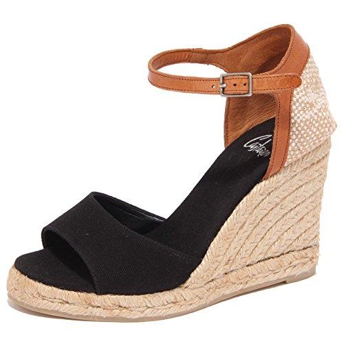 1577Q sandalo CASTANER BALBINA nero scarpa donna sandal woman [35]