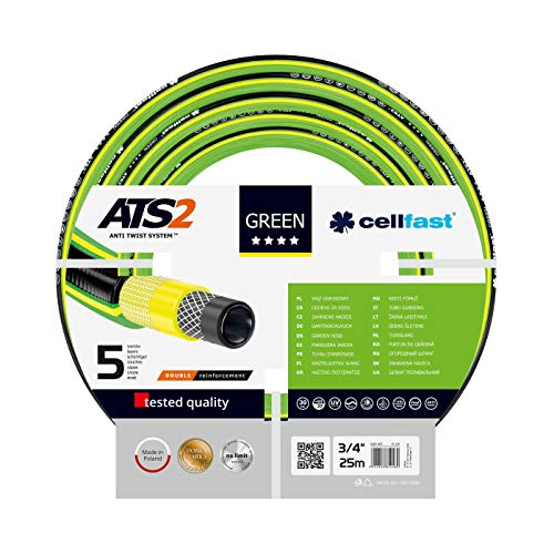 Cellfast Green ATS2 Gartenschlauch 3/4'' - 25 m