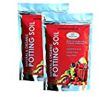 #4: Organic Potting Soil Mix 10 Kg Ready to use organic fertilizer nutrients balanced water absorption prevents root-rot light weight terrace gardening and indoor plants, contains neem powder, beneficial microbes for flowers vegetables and ornamental plants