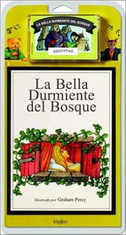 La bella durmiente del bosquelibro + casette por Jacob Grimm