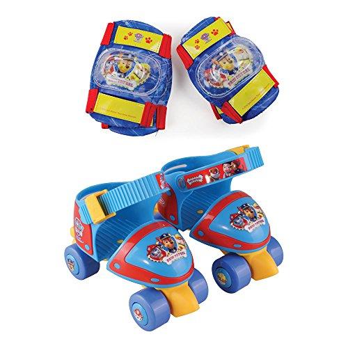 PAW PATROL Kinder Rollschuhe Größenverstellbar, Mehrfarbig, Kid, OPAW019