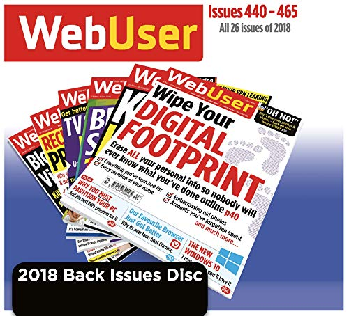 Price comparison product image Web User 2018 Back Issue Disc