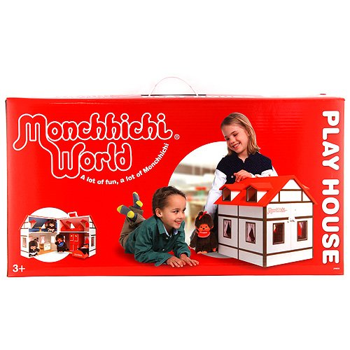Monchhichi Doll House (Multi-Colour)