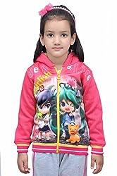 Shaun Girls Cotton Sweatshirt Pink 616_G_P30 6-7 Years