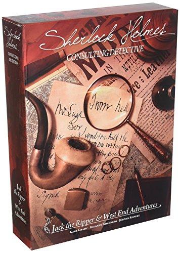 Asmodee editions Juego Sherlock Holmes Consulting Detective: Jack The Ripper and West End Adventures (Puede no Estar en español)