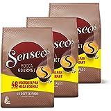Senseo Mocca Gourmet, Nouveaux Design, Lot de 3, 3 x 48 Dosettes de Café