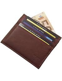 2d6c434f71 Extra piatto porta carte di credito in pelle di vitello MJ-Design-Germany  in 2 diversi…