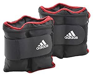 adidas Adjustable Ankle/Wrist Weights, 1.0Kg Pair
