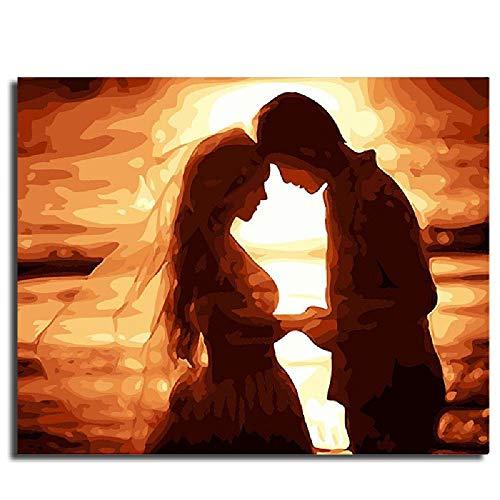 Malen Nach Zahlen Romantische Hochzeitsfotos 20×24