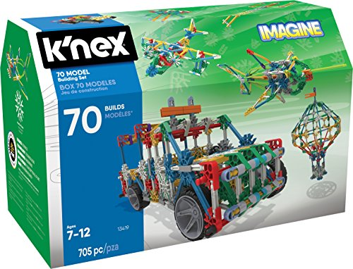 K�NEX Imagine 70 Model Building Set for Ages 7+, Engineering Education Toy, 705 Pieces