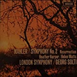 Gustav Mahler / The London Symphony Orchestra , Georg Solti , Heather Harper , Helen Watts - Symphony No.2 - Decca - SET 325-6