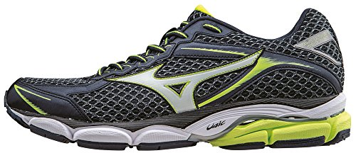 Mizuno Wave Ultima 7 - OmbreBlue/Silver/Safetyyellow, 43