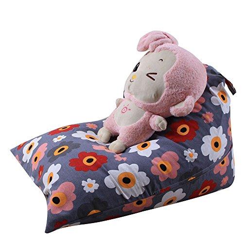 Spielzeug Aufbewahrungstaschen Hängend, Sitzsack Kinder Stofftier Kuscheltiere Aufbewahrung Aufbewahrungstasche Soft Pouch Stoff Stuhl Lang (I)