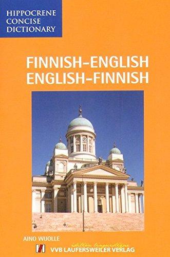 Finnisch - Englisch und Englisch - Finnisch Wörterbuch / Finnish - English and English - Finnish Dictionary: 12000 Stichwörter (Livre en allemand)