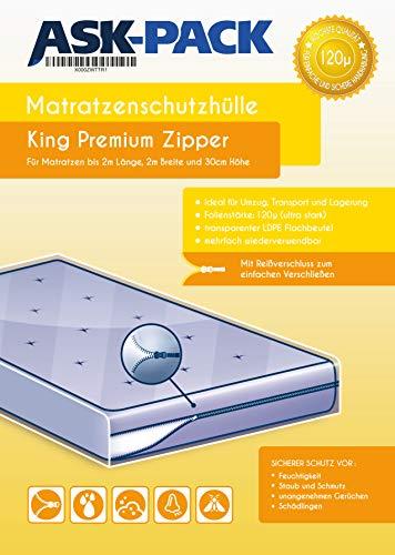 Zoom IMG-1 custodia materasso premium king con