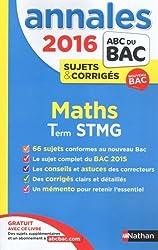 Annales ABC du BAC 2016 Maths Term STMG