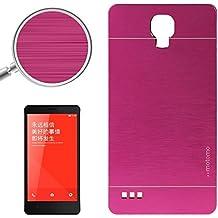 Wkae Case & Cover 2 en 1 cepilló la caja protectora de la textura de metal y plástico para Xiaomi redmi Nota ( SKU : S-MEC-0118M )