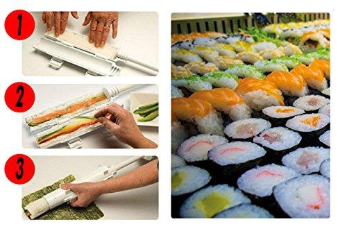 Sushi bazooka genki sushi maker sushi roller kit easy sushi rolls maker