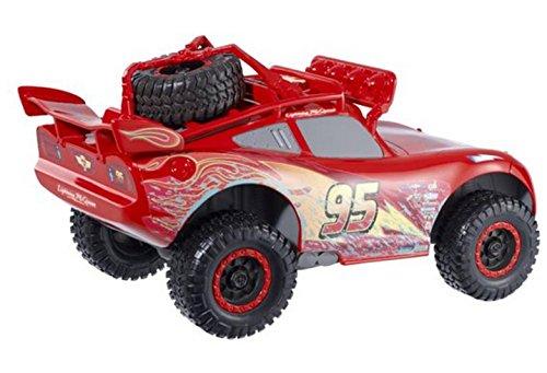 Cars 2 - Rayo McQueen, aventura todoterreno (Mattel CBH55)