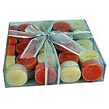 Tea lights scented multi color - PACK OF...