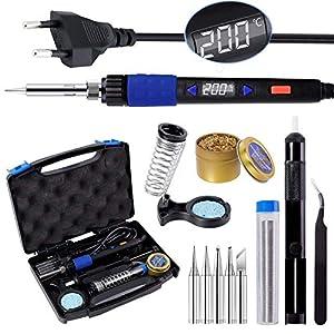 Kit de Soldador, LYLIN 65W 220V Soldador de Estaño Electrónica, 90-480℃