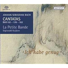 """Cantate """"Herr, deine Augen sehen nach dem Glauben"""", BWV 102: Partie I - R�citatif """"Wo ist das Ebenbild, das Gott uns eingepr�get?"""""""