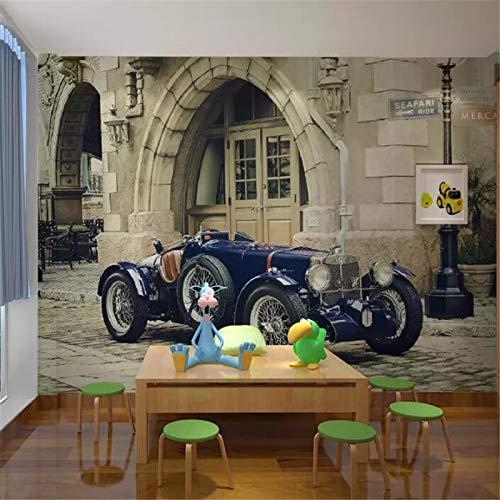 Benutzerdefinierte Tapete 3d Fototapete Europäischen Stereo Oldtimer TV Hintergrund Wand Wohnzimmer Schlafzimmer Tapete 3d Wandbilder 25/㎡